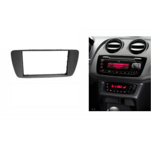 Radio Fascia for SEAT IBIZA 2008+ 2 Din Stereo Panel Dash Mount Refit Trim Kit