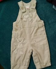 boy 3-6 months creamy winter dungarees corduroy from NEXT