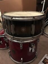 RARE 1940s Gretsch Two Tone Wooden Snare Drum