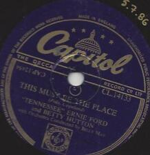 Ernie Ford + Betty Hutton: this must be the place + The Honeymoon's Over