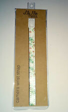 CAMERA WRIST STRAP Vintage Daisy LILY MAE SOUL UK Media Access FAUX LEATHER LOOP