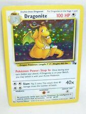 Rare Holo Pokemon Card Dragonite Fossil 4/62 1999 Wizards