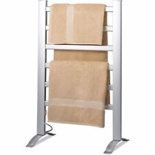 Electric Heated Knox Freestanding & Mountable Towel Warmer Drying Rack w/6 Bars