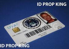 STARGATE SG-1 Col Jack O'NEIL PVC ID Card Badge MOVIE PROP