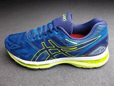 Asics gel Nimbus 19 t700n zapatillas aerobic 44/45 azul amarillo Weiss impecable