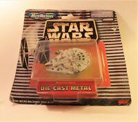 Star Wars - Millenium Falcon - Micro Machines - Galoob - Die-Cast Metal Model