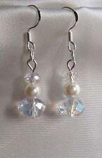 Handmade Beauty Crystal Costume Earrings