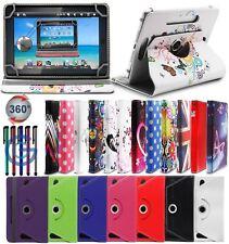 Samsung P6800 Galaxy Tab 7.7 TAN 360 degree Rotating Designer Colourful Case
