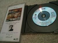 Sting Minidisc CD Japan Why Should I Cry For You? The Soul Cages