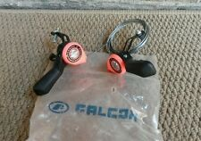 NOS Falcon Pink and Black Thumb Shifter Vtg Thumbies