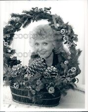 1988 Florence Henderson A Very Brady Christmas 1980s TV Special Press Photo