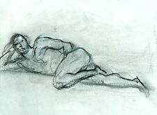 Male Nude Life Drawing Keith Gunderson
