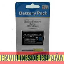 Batería Recargable de Ion-Litio para  NINTENDO 3DS 3,7v 2000mah