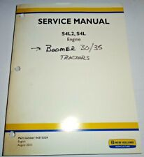New Holland S4L2 & S4L Engine Service Repair Manual (fits Boomer 30/35 Tractors)