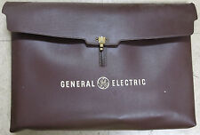 Vintage GENERAL ELECTRIC 1970's plastic clutch bag