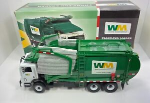 """First Gear 1/34 Scale MACK FRONT END LOADER """"2002 WASTE MANAGEMENT VERSION"""" VERY"""