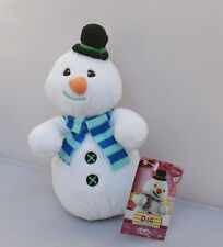 NEW Preschool Doc McStuffins friend Chilly The Snowman Stuffed Dolls Plush