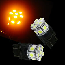 2x 3157 3155 3057 13 5050 SMD LED Auto Tail Rear Parking Light AMBER US CARS P3