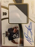 MILES SANDERS 2019 Panini Immaculate Collegiate RPA PATCH Auto #61/99 Penn State