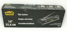 M-D Building Products 49194 14-Inch Tile Cutter - New In Box