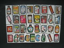 WACKY PACKAGES SET OLD SCHOOL 2 33 STICKER & 9 Puzzle Bad Tooth Set Wrapper 2011