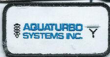 Aquaturbo Systems Inc employee patch 2 X 4  #103