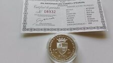 VERY RARE - 10 DINERS ANDORRA - 50 ANV. DEL CONSELL D'EUROPA - 1999 - PROOF!!!
