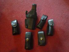 Safariland 070-383  Black Plain RH Duty Holster For Glock 20 21 plus extras