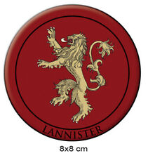 GAME OF THRONES LANNISTER IRON/SEW ON PATCH
