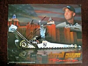 Darrell Gwyn Racing New York Yankees Top Fuel Dragster Andrew Cowin Poster