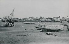 ZANZIBAR c. 1957 - La Plage Bateaux Maisons  - DIV 11256