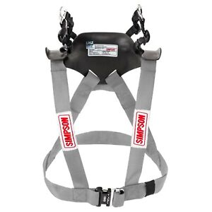 Simpson Hybrid Sport FHR System Hans Device FIA Approved- STD Adult Small Silver