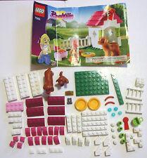LEGO Belville 7583 Playful Puppy Dog House Set Instructions Retired edition