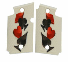Custom Sig Sauer P938 Ambidextrous Grips 4 Suits Ace Hearts Spades Diamond