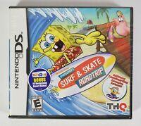 SpongeBob's Surf & Skate Roadtrip (Nintendo DS, 2011) Toys R Us Bonus Game NEW