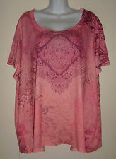 Sheer Knit Top by Appropriate Behavior-Polyester-Good Condition-Sz 4x (26-28W)