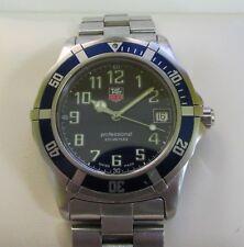 Tag Heuer 2000 Series Gents Watch Blue Dial WM1113 38mm