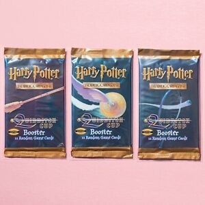 Harry Potter TCG | SEALED Quidditch Cup Booster Pack Art Set | WotC Cards