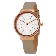 SKAGEN Ancher Tan Leather Strap Watch 30mm Women's Watch SKW2481 NEW