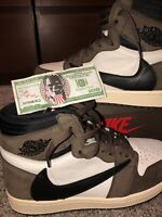 Jordan 1 Travis Scott Size 9.5