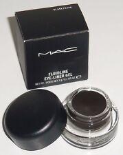 MAC pro longwear fluidline eye liner gel Black track NEW in Box