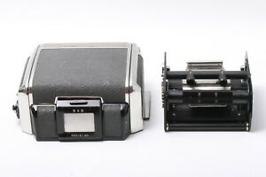 Zenza Bronica Roll Film Back Holder Black 6x6 For S2 S2A JAPAN 201369