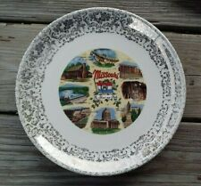 """MISSOURI """"THE SHOW ME STATE"""" COLLECTOR PLATE ~ 10"""""""
