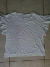 lotto 531 Top T-shirt maglietta bianca donna ZARA tg.L