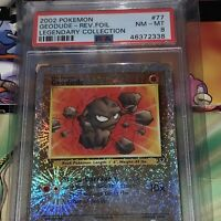 2002 Legendary Collection Geodude Reverse Holo #77 Pokémon PSA 8 WOTC