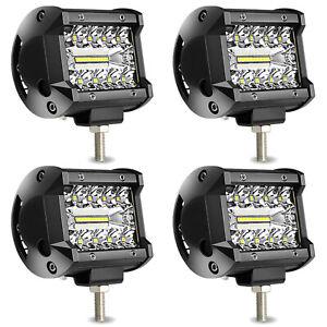2V LED Work Light Bar Flood Spot Lights Driving Lamp Off-Road Car Truck SUV UTV