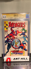 Avengers #53 CGC SS Signed by Stan Lee!!! . Early Avengers vs X-Men!!!