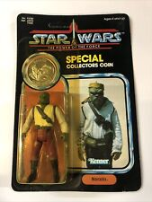 Vintage Star Wars POTF jedi Last 17 Barada MOC MOSC 1985 92 back unpunched
