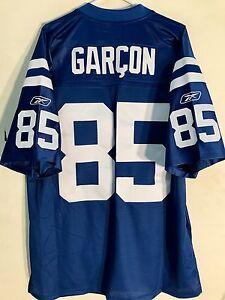 Reebok Premier NFL Jersey Indianapolis Colts Garcon Blue sz XL