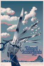 Laurent Durieux Edward Scissorhands Poodle Variant Poster Print Mondo Artist
